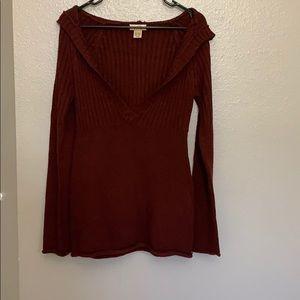 Wine colored Medium sweater